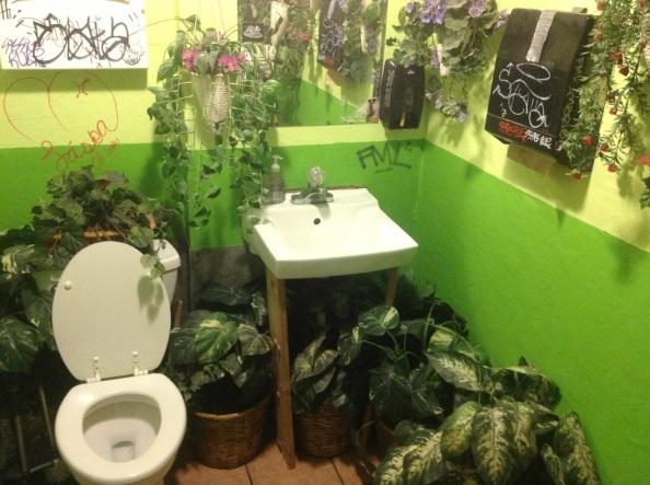 In the Bowl: Bathroom GardenGetaway!